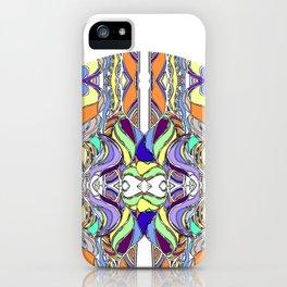 Hundertwasser inspired iPhone Case