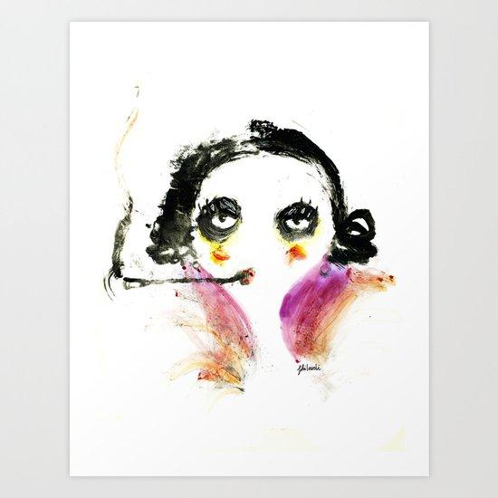 Mme Zuzu Art Print
