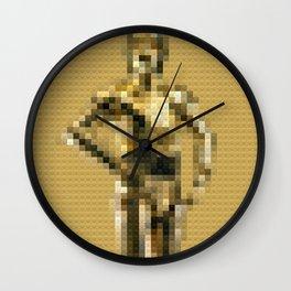 C3P0 Droid - Legobricks Wall Clock