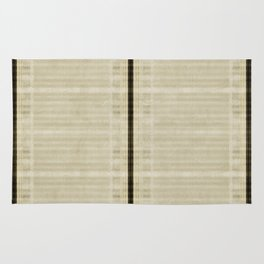 """Simple Oriental Curtains (Beige)"" Rug"
