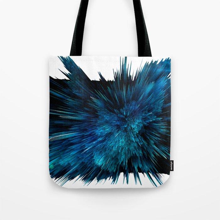 Blue art Tote Bag