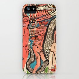 Ourobouric Echoes iPhone Case