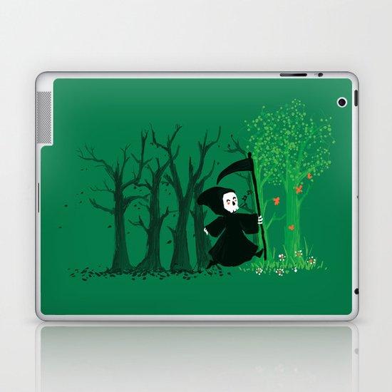 The hills WERE alive Laptop & iPad Skin