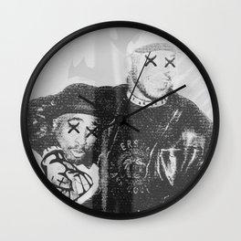 W H I T E W A S H E D M O O R Wall Clock