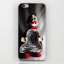 Death Spiral Ashtray Clown iPhone Skin