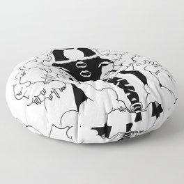 holy mountain Floor Pillow