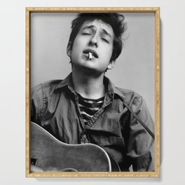 Bob Dylan Music Poster Canvas Wall Art Home Decor,CPX511 No Frame Serving Tray