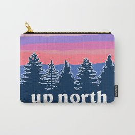 up north, pink hues Carry-All Pouch