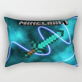 Mine craft sword Rectangular Pillow