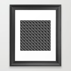 Industrial Gray Framed Art Print