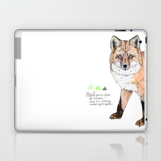 Fox Laptop & iPad Skin
