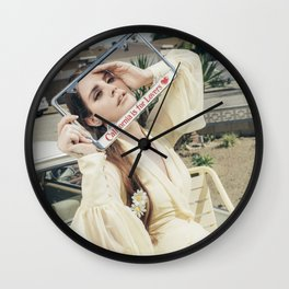 California is for Lovers Wall Clock