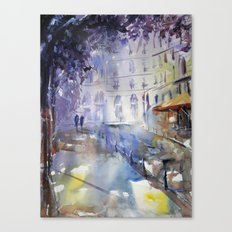 Promenade à l'ombre Canvas Print
