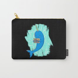 Narwhale Unicorn Gift Unicorns Saying Carry-All Pouch