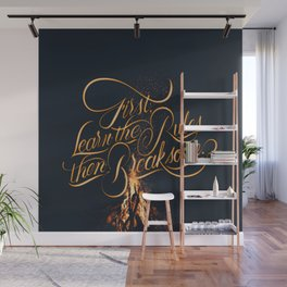 First Learn - Fire Wall Mural