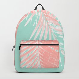 Palm Leaves Summer Vibes #9 #tropical #decor #art #society6 Backpack