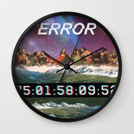 Last Error Wall Clock