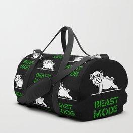 Beast Mode Pug Duffle Bag