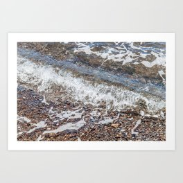 Rocks Below the Bohol Sea Art Print