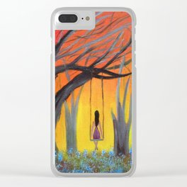 Morning swing Clear iPhone Case