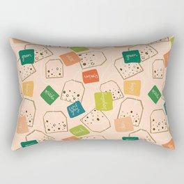 A Tangle of Teas Rectangular Pillow