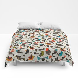 just birds china white Comforters