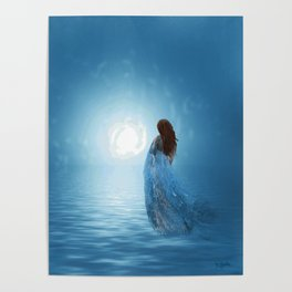 Walking in the light of freedom Poster