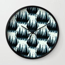 Washington - pattern Wall Clock