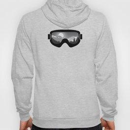 Moonrise Goggles - B+W - Black Frame | Goggle Designs | DopeyArt Hoody