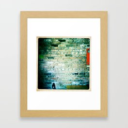 Let's Get Some Coffee, Moorhead 2011 Framed Art Print