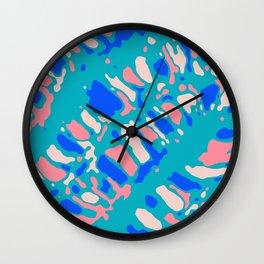 Coral Reef Sunlight Dream Wall Clock