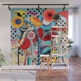 Colorful Happy Days  Wall Mural
