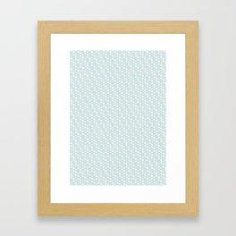 Hexagonal Framed Art Print