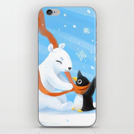 Uncle Bear iPhone & iPod Skin