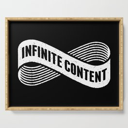 Infinite Content Serving Tray
