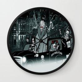 secret society of fiends Wall Clock