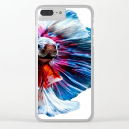 Magnificent Betta Splendens Freshwater Fish Clear iPhone Case