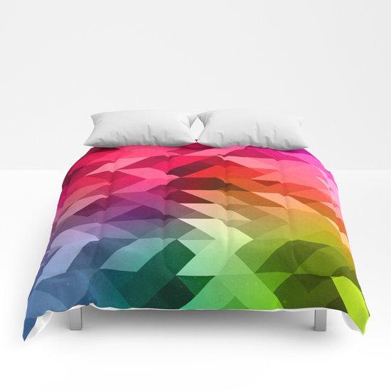 3d Retro  Comforters