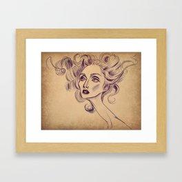 LadyS Framed Art Print
