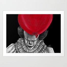 Float Down Here Art Print