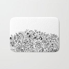 edge of the meadow Bath Mat
