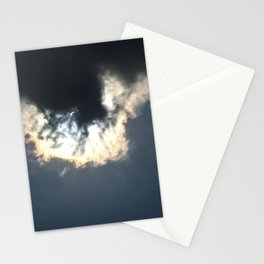 Solar Eclipse of the Heart Stationery Cards