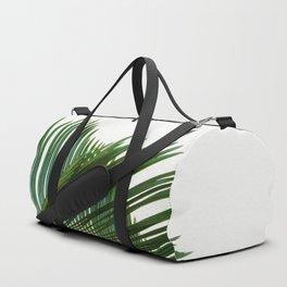 Minimalist Palm Tree Leaf Tropical Zen Photo Houseplant Duffle Bag
