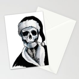 Blackest Ever Black Xmas Stationery Cards