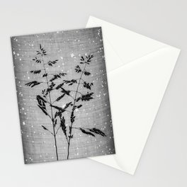 Delicate grasses - light and shadow #6 Stationery Cards