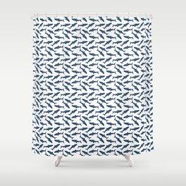Whale Shark Pattern Shower Curtain