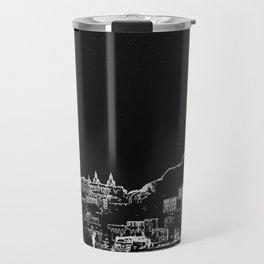 lisbon skylines Travel Mug
