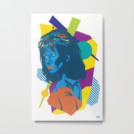 TRUDY :: Memphis Design :: Miami Vice Series Metal Print