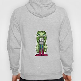 In stitches girl Hoody