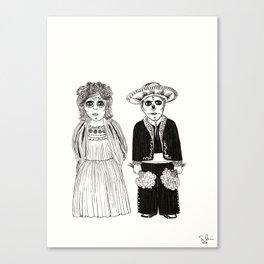 Abuelitos Canvas Print